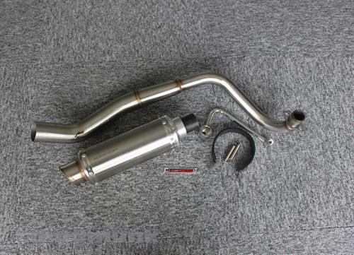 KEPSPEED E50 DX  DOWN SWEPT S/STEEL EXHAUST