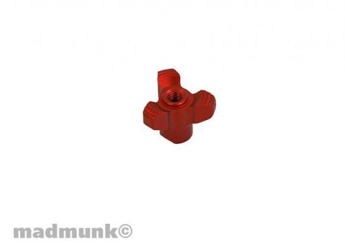 KP-NC-0115 ROD NUT RED