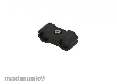 CABLE CLAMP 6MM BLACK