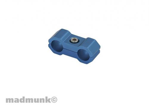 CABLE CLAMP 6MM BLUE