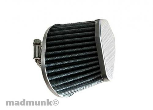 AIR FILTER OVAL 38MM ALLOY