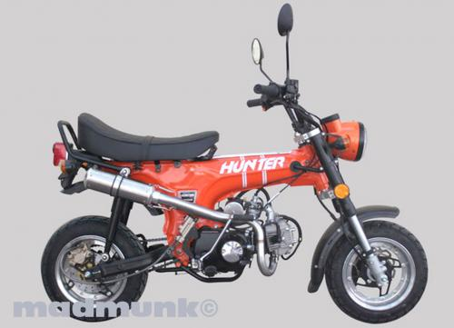 ZETHS CUSTOM HUNTER 50CC CLASSIC ORANGE 10IN RIMS