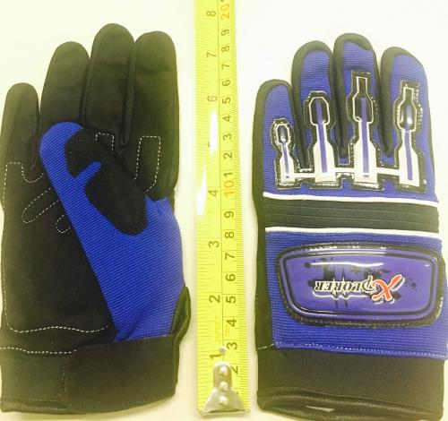 BLUE GLOVE CHILDREN ( SIZE 12 )
