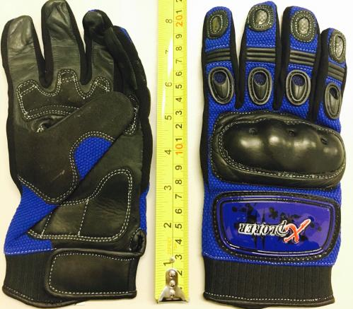 BLUE KNUCKLE GLOVE MEDIUM ( SIZE 9)