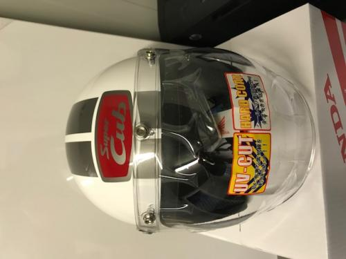 HONDA CUB 60TH ANIVERSARY HELMET NEW