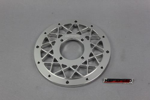 CNC CENTRE PLATE FOR KEPSPEED 10 IN RIMS IN ALLOY