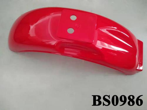 MUNK RED REAR FENDER