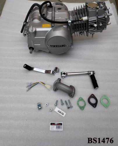 YX 125CC SEMI AUTO 4 SPEED KICK START ENGINE