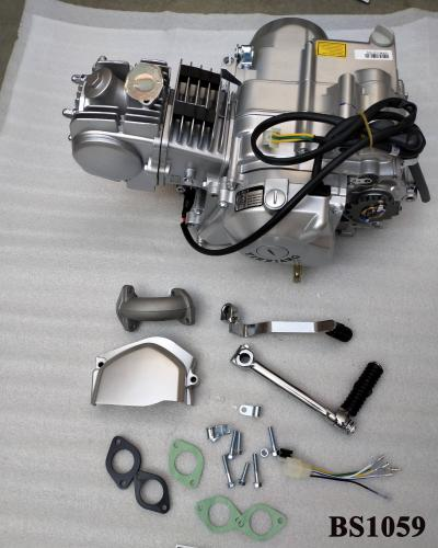 YX 125CC ELEC START 4 SPEED MANUAL CLUTCH IN SILVER