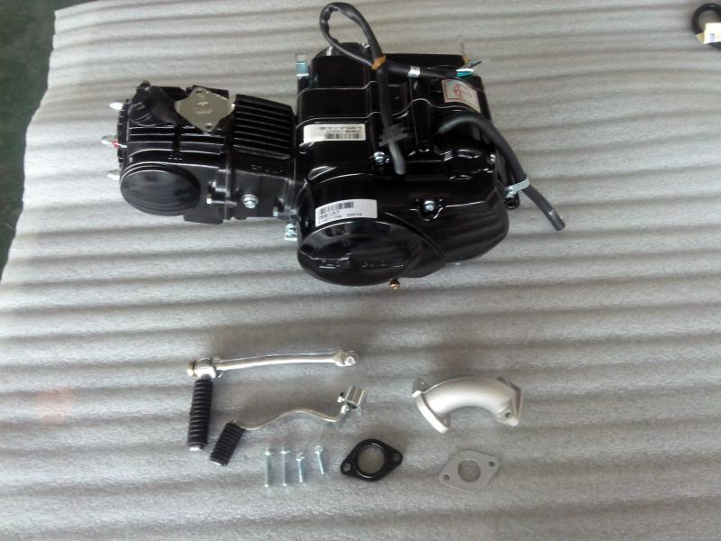Lifan 125cc 4 Speed Clutch Engine In Black