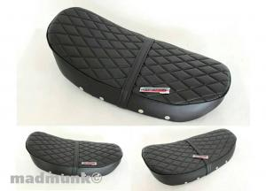 KEPSPEED DIAMOND PATTERN SEAT FOR SKYTEAM 5.5LTR FRAME IN BLACK