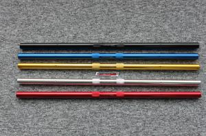 KEPSPEED STRAIGHT ALLOY CUB BARS 640MM IN RED