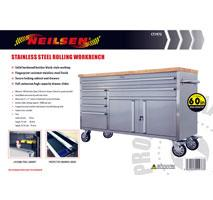 60 INCH STAINLESS STEEL TOOLBOX