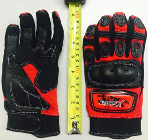 RED KNUCKLE GLOVE EXTRA SMALL ( SIZE 7)