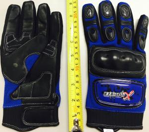 BLUE KNUCKLE GLOVE LARGE ( SIZE 10)