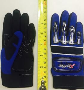 BLUE GLOVE CHILDREN SIZE 4