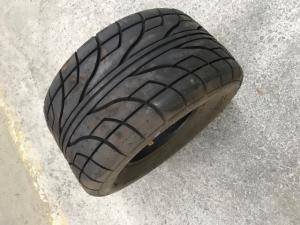 QUAD ROAD TIRE AT 22 X 10.00-10IN