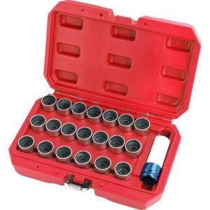 21PCS BMW LOCKING WHEEL NUT STUD REMOVER TOOL KIT