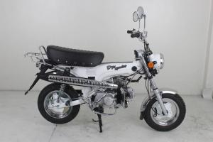 DX EURO 4  125CC BIKE IN MATT WHITE  FRAME