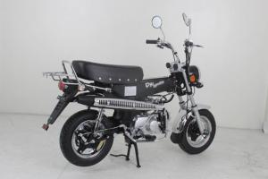 DX EURO 4   50CC BIKE IN MATT BLACK FRAME